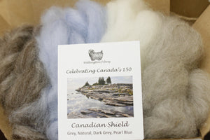 Celebrating Canada's 150 Roving Colour Sampler