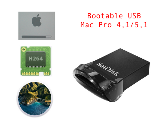 Bootable USB Disk Mac Pro 4,1 5,1 Boot Screen Big Sur