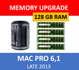 Samsung 128GB 4X32GB DDR3 ECC 1600 Memory RAM for 2013 Mac Pro 6,1 Upgrade
