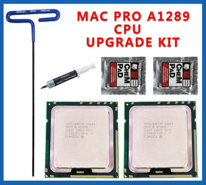 Pair X5680 3.33GHz XEON CPU 2010 2012 Mac Pro 5,1 upgrade kit 5,1