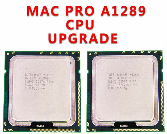Matched Pair 12 Core 3.33GHz XEON X5680 CPU Processor 2010 2012 Mac Pro 5,1