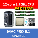 Apple Mac Pro 6.1 Late 2013 2.7GHz 12-Core CPU Processor+128GB Memory Upgrade