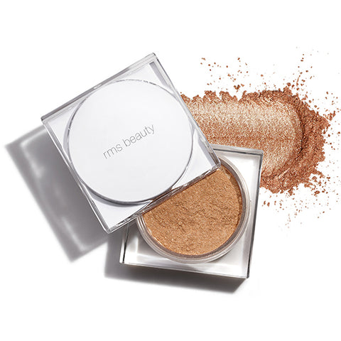 Responsible Beauty Brand RMS Living Glow Face & Body Powder: Golden Champagne Radiance