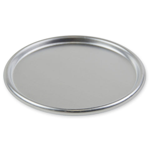 "9 1/2"" Pizza Dough Pan Cover - Aluminum"