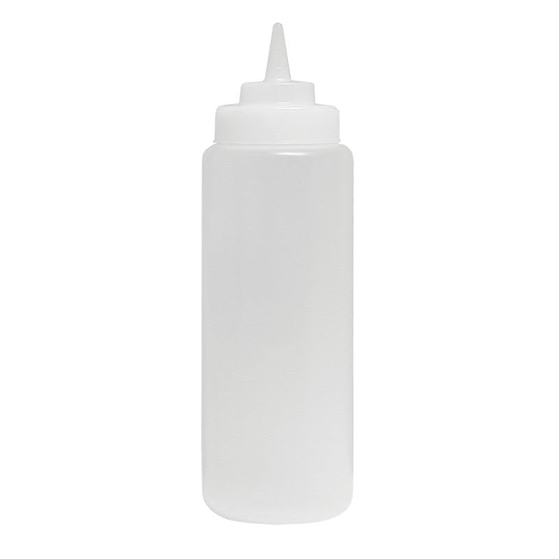 Update 24 oz Wide Mouth Squeeze Bottle - 6 pack, Clear