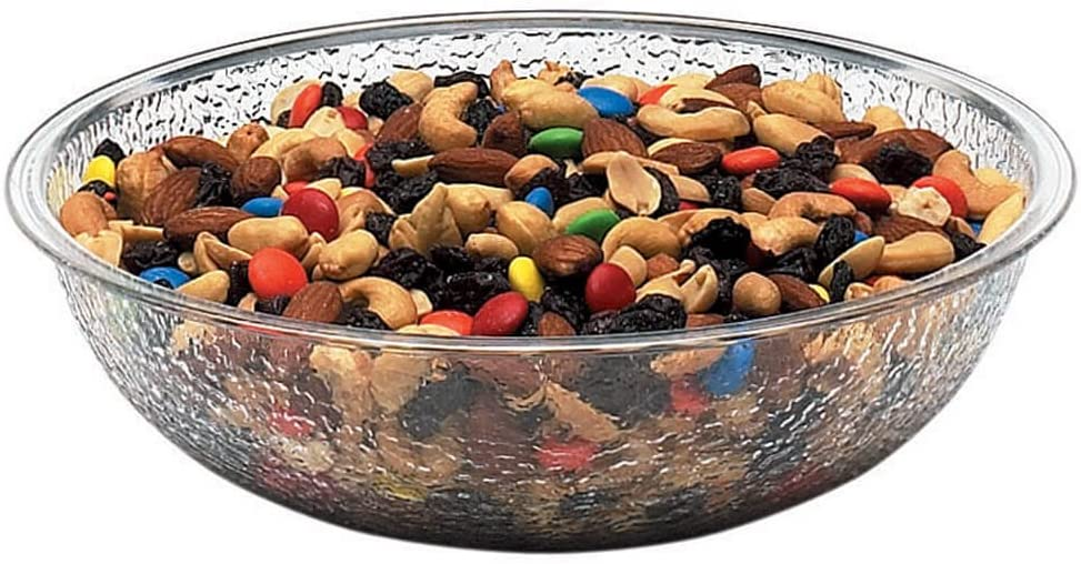 "Cambro Camwear Salad Bowl pebbled 8"" round 1.8 qt."