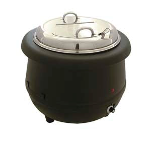 Electric Soup Warmer, Aluminum Liner 10.5 Quart