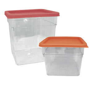 Storage Container Lid - Red