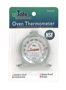 "Oven Thermometer - 2"" Dial"
