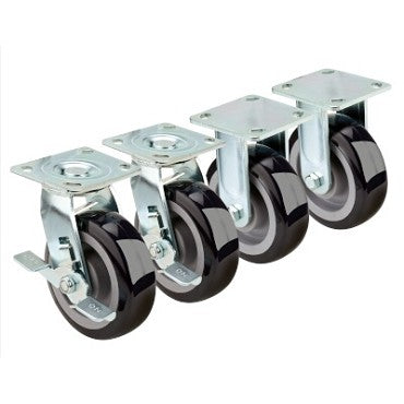 "6"" Plate Caster w/ 750 lb Capacity"