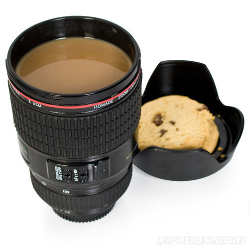 Novelty Camera Lens Travel Mug
