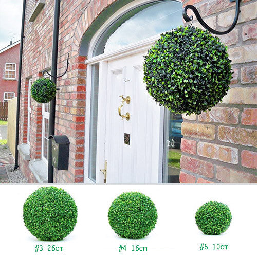 2-Pack Artificial Topiary Ball