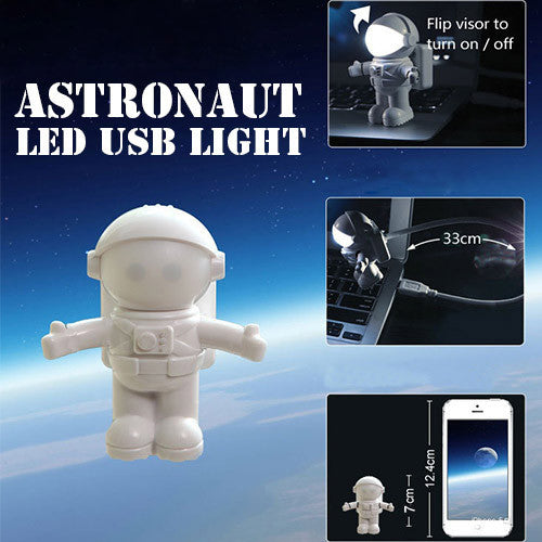 Astronaut LED USB Light