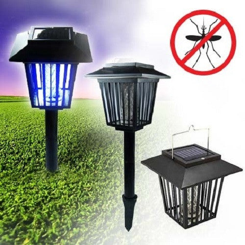 2-in-1 Solar Bug Zapper and Garden Light