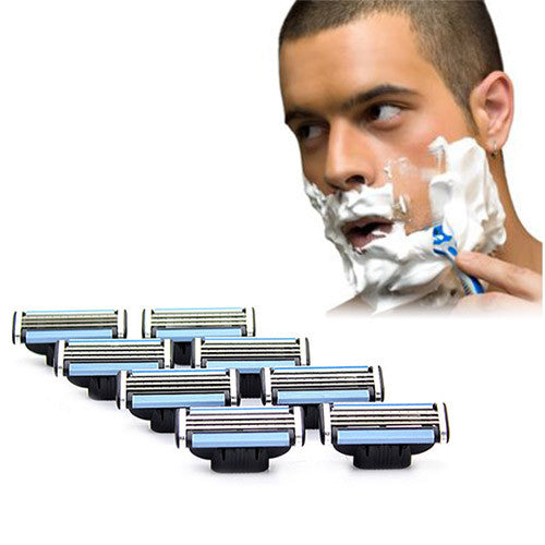24 Gillette Mach 3-Compatible Razor Blade Cartridges