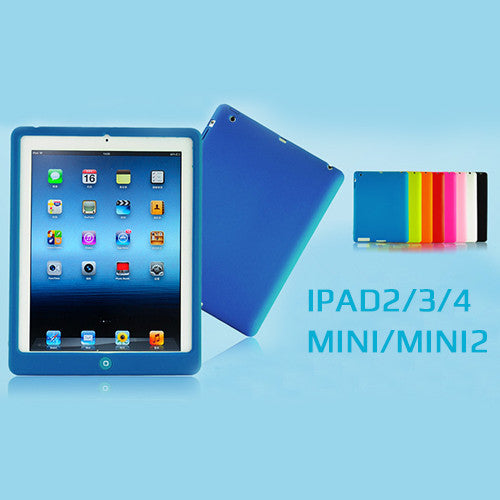 Colourful Silicon Case for IPad