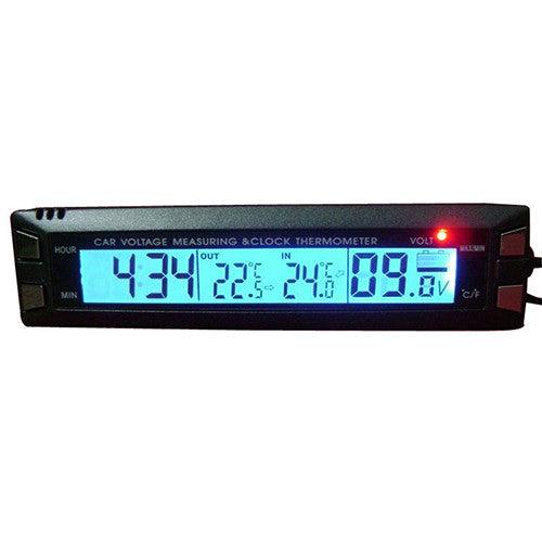 Multifunctional 4 in 1 Car Digital Thermometer