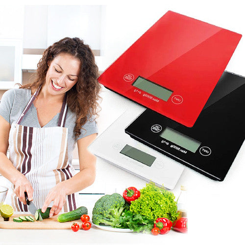 Digital Kitchen Scale with LED Display