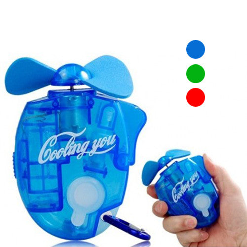 Portable Mini Air-conditioning Mist Cooling Fan