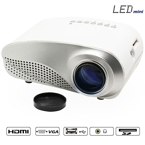 Portable LED HDMI Video Game Projector