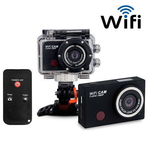 1080P Waterproof  Wifi Sports Camera