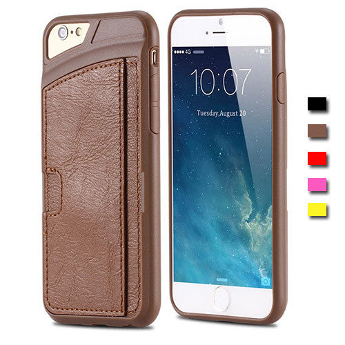 iPhone Ultra Thin Case with Card Slot