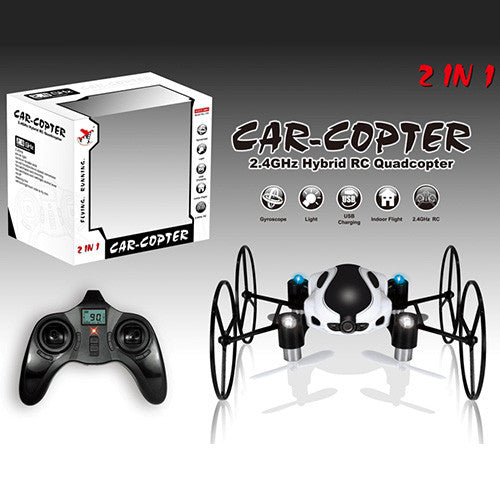 2.4GHz Hybrid RC Quadcopter