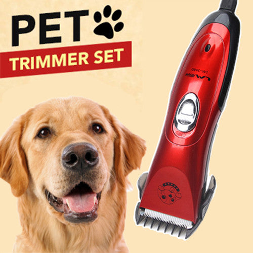 Professional Cordless Electric Dog Trimmer