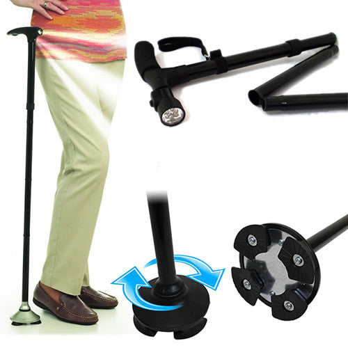 Magic Foldable Cane with LED Lights