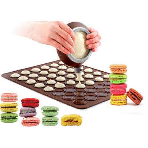 Easy-To-Use Silicone Macaron Baking Kit