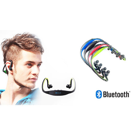 a Pair of Wireless Bluetooth Sports Headphones