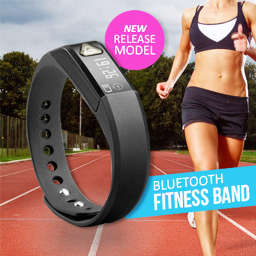 Bluetooth Smart Fitness Bracelet for IOS & Android