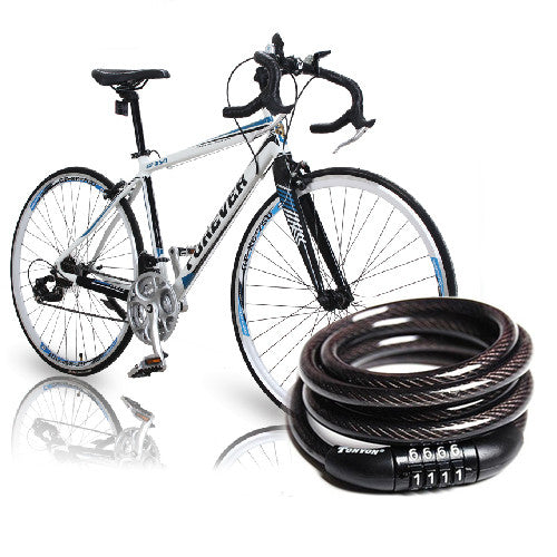 4 Digit Combination Steel Bike Lock