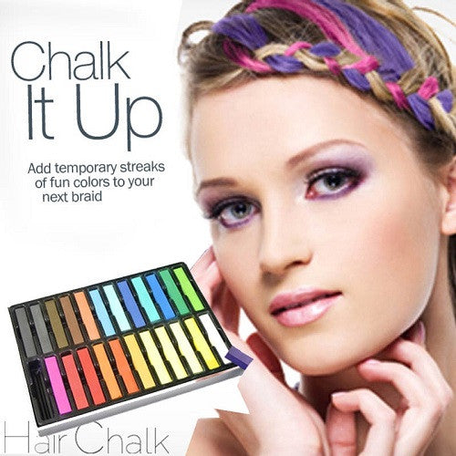 Coloured Hair Chalks