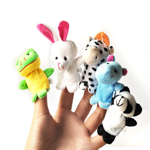 a Set of 10 Finger Puppets