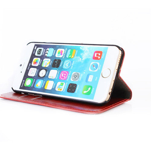 iPhone PU Leather Case