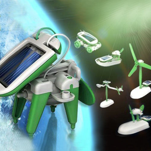 Solar Powered Model Robot