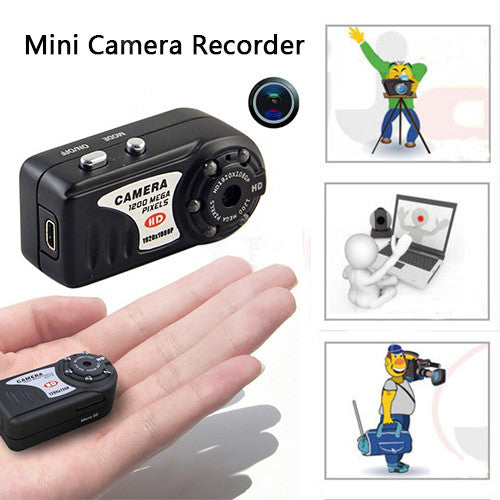 Mini DV Camera Recorder with Night Vision