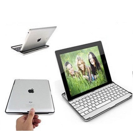Aluminum iPad Case and Keyboard