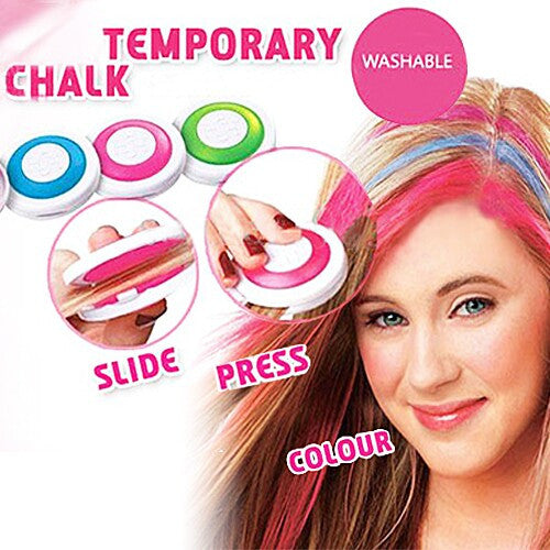 4 Temporary Hair Chalk Compacts