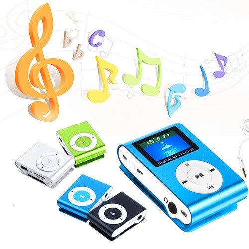 Metal Clip Digital MP3 Player
