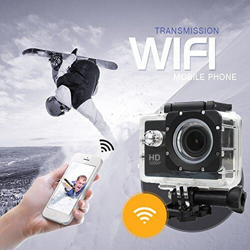 WIFI 1080P Sports Action Video Camera
