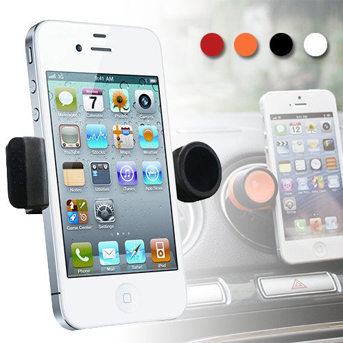 360° Rotating Car Air Vent Mount Holder for Mobile Phones
