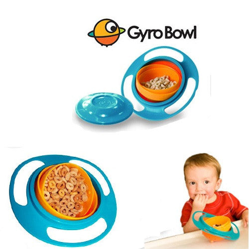 Spill-Proof Gyro Bowls