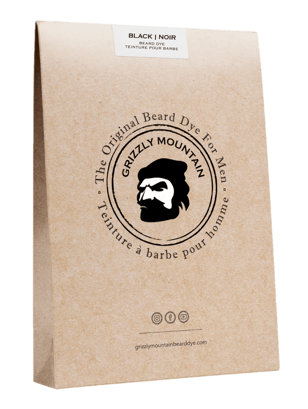 Organic & Natural Black Beard Dye