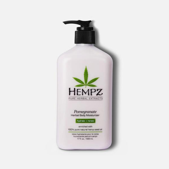 HEMPZ Pomegranate Herbal Body Moisturizer Body Lotion 17fl oz
