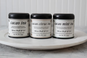 Cacao Shell Trio Tea