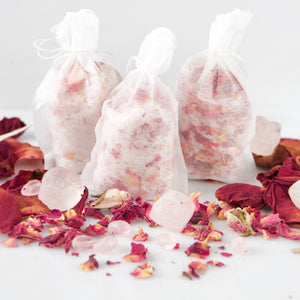 Rose & Rose Quartz Bath Salts