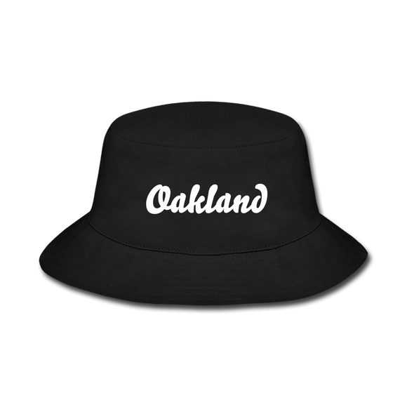 Oakland Bucket Hat - black