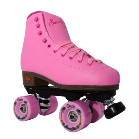 *NEW* Sure-Grip Pink Passion Roller Skates - Volition Skate Co.
